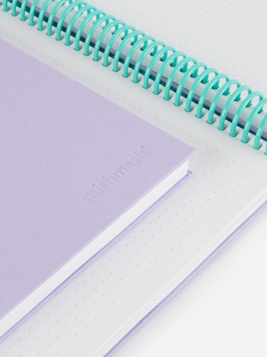 Easy Breezy Notebook Lavender   Mishmash