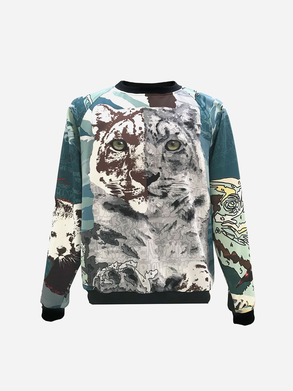 Sweatshirt Estampada Extinction | Duarte