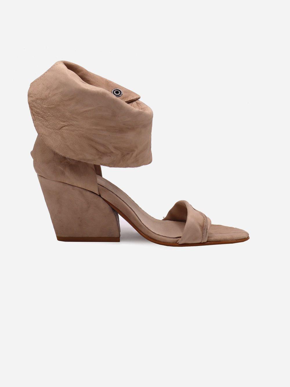 Sandálias Nude Textura | Pallas