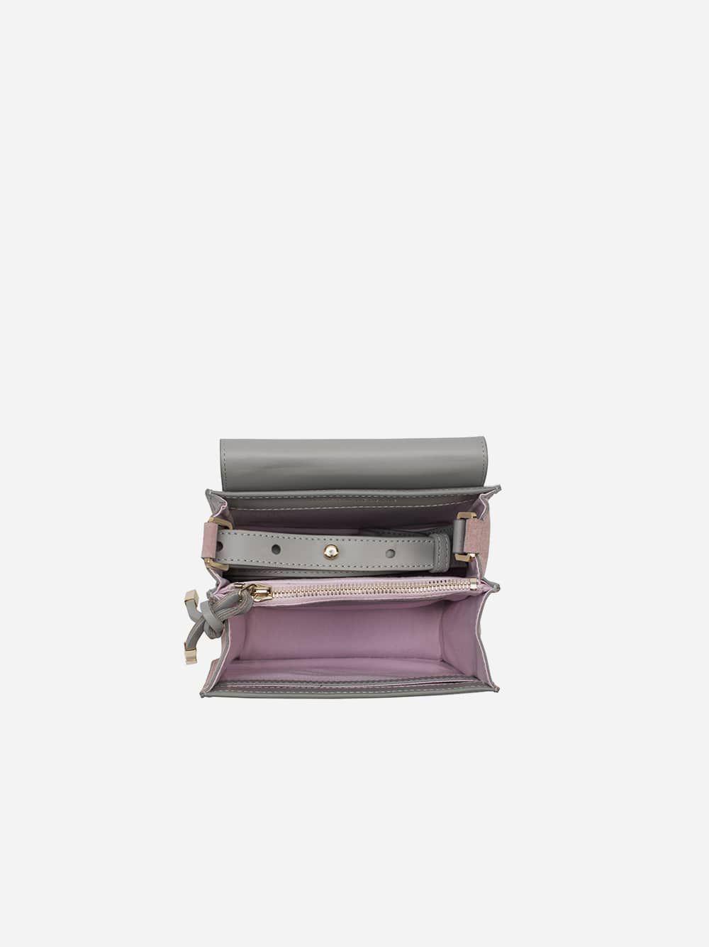 Tilda Grey Crossbody Smartphone | Maison Héroïne