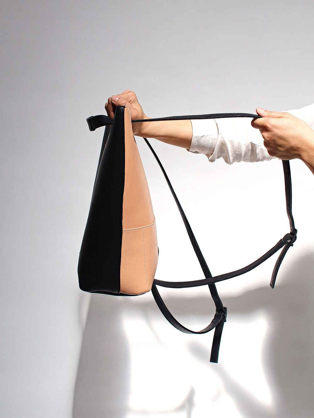 Multicolor Tote Backpack Gentle | Maria Maleta