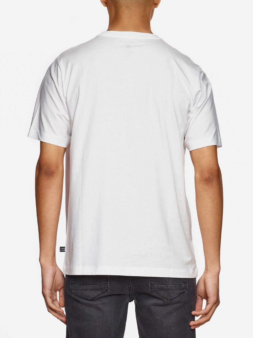 T-Shirt Branca Estampada | AMBITIOUS