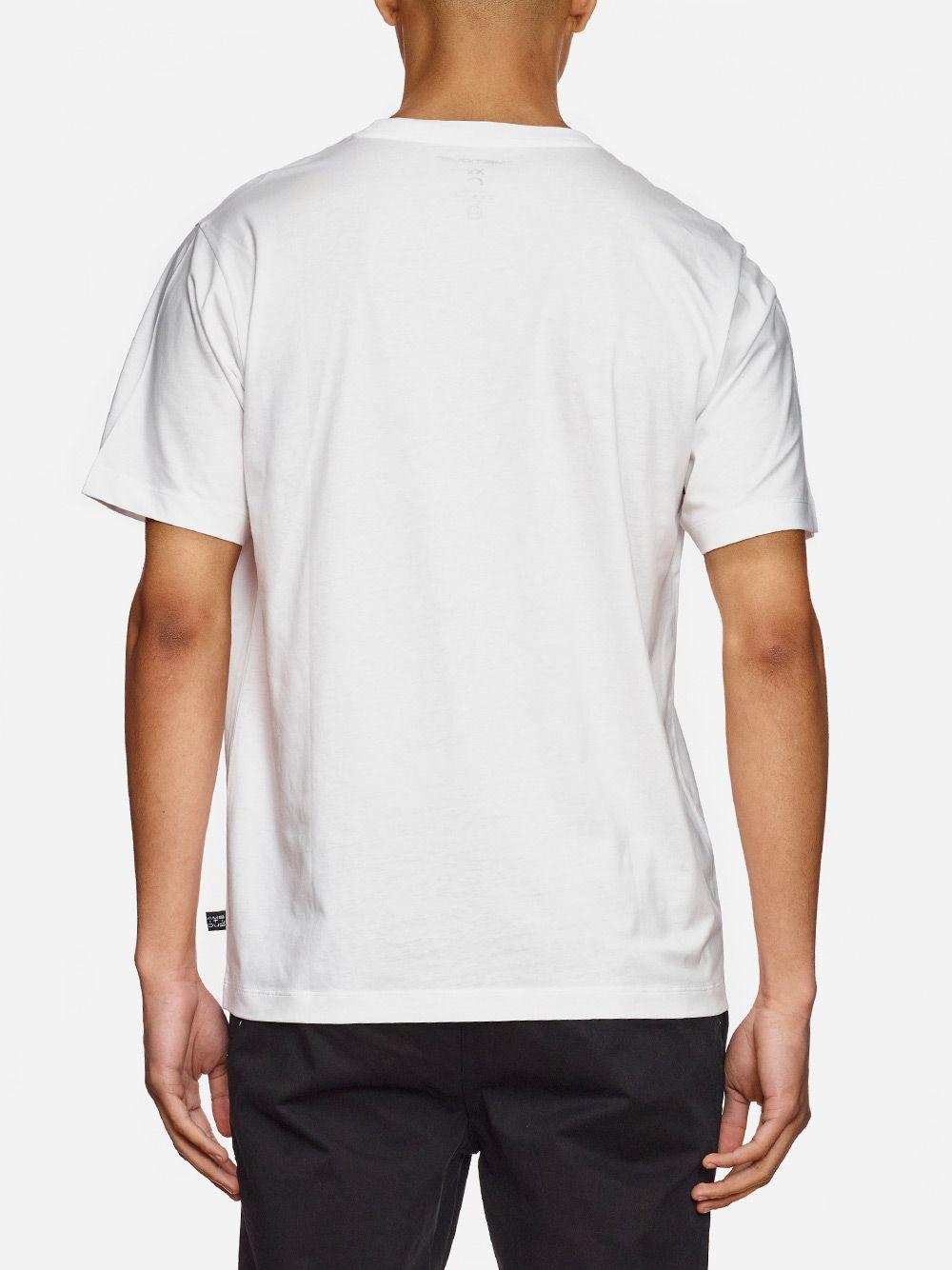 T-Shirt Branca  Com Estampado | AMBITIOUS