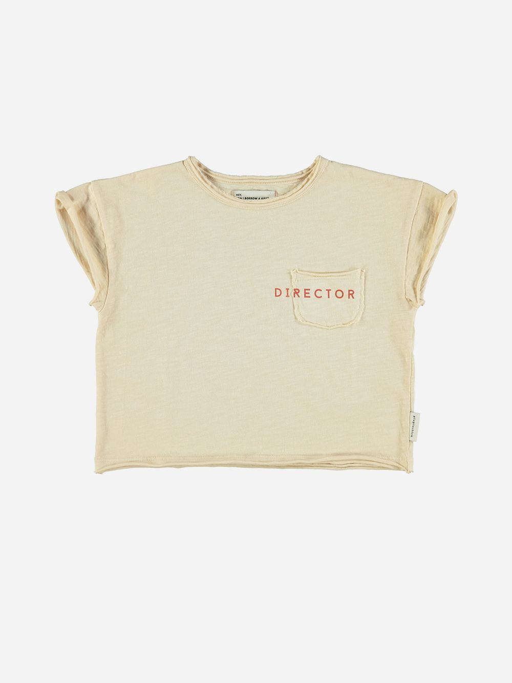 T-shirt Sand with