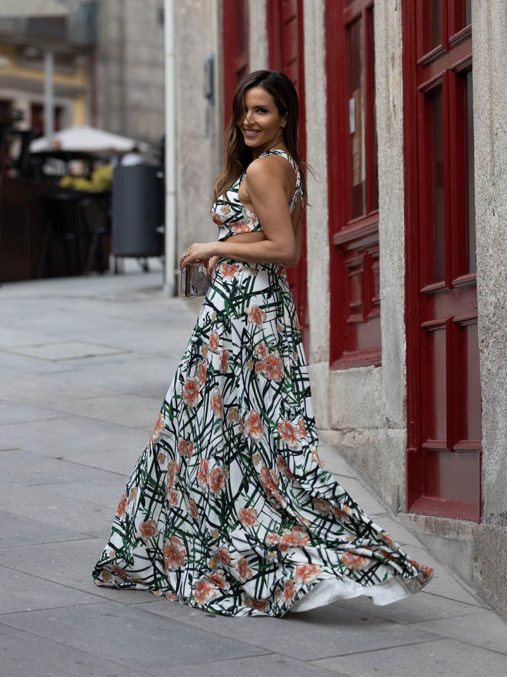 Vestido Estampado Flor | Kaoâ