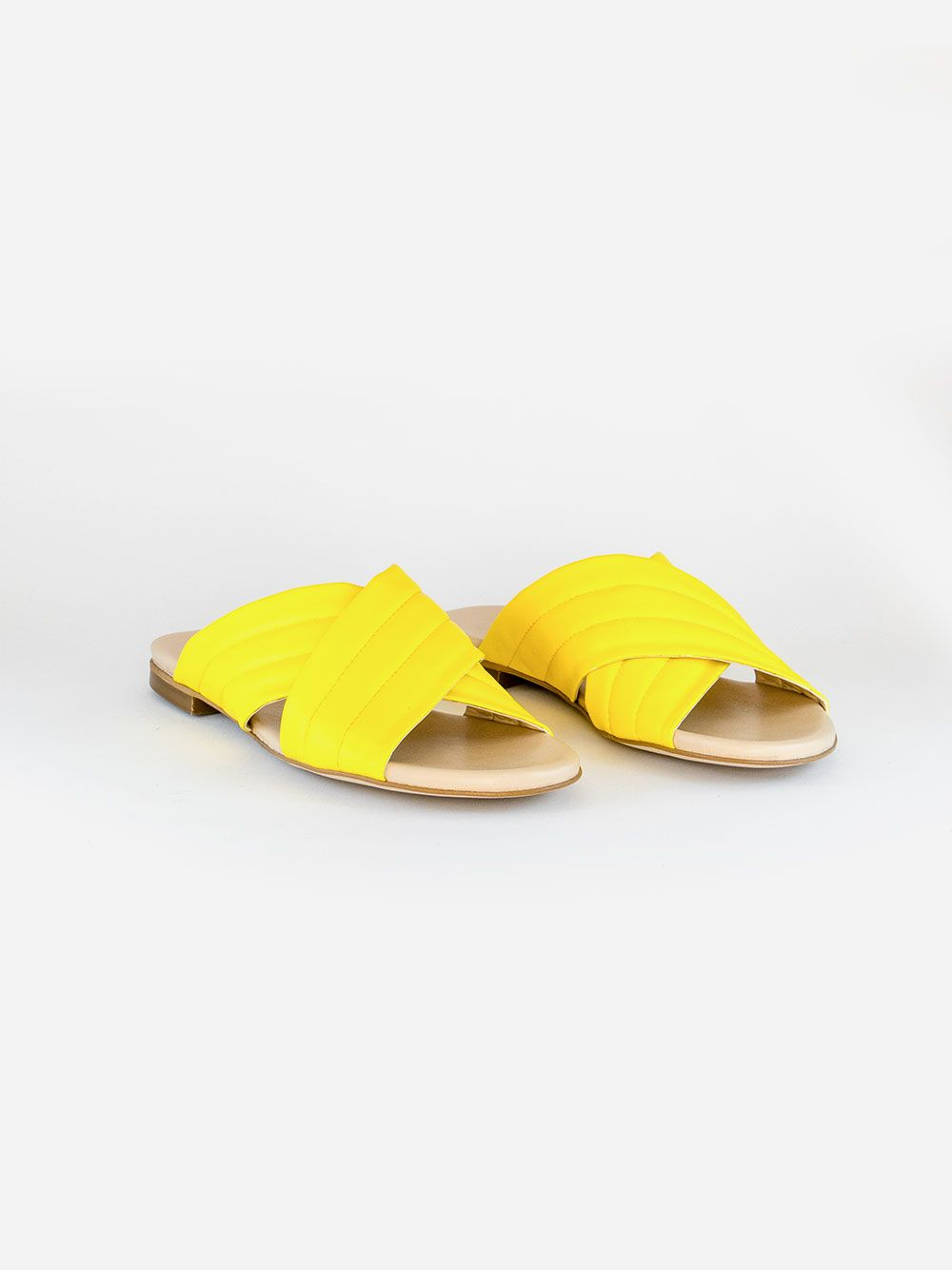 Yellow Mules Violet   Verney