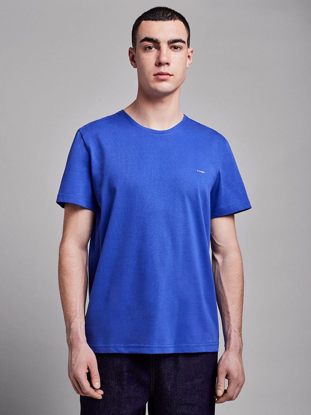 T-shirt Essential Azul   Wetheknot