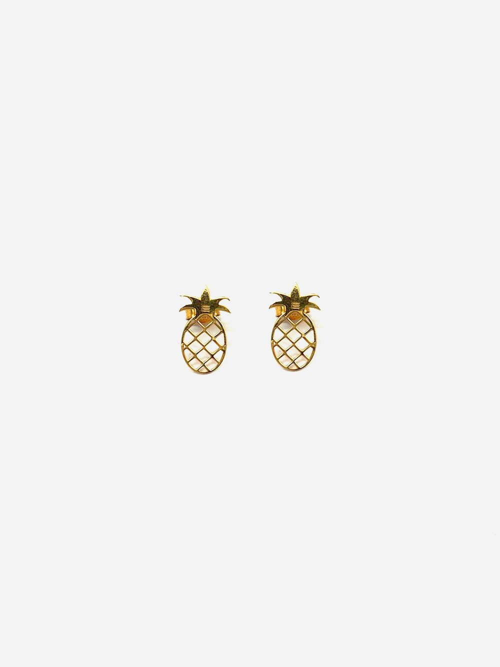 Gold Earrings Ananás | Made to Envy