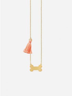 Colar Osso Dourado | Coquine Jewelry