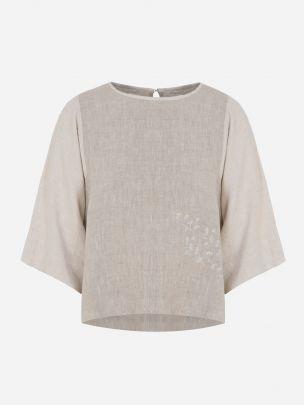 Linen T-shirt | A-line Clothing