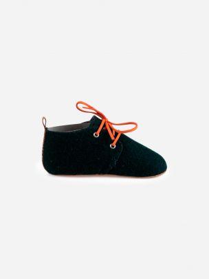 Dark Green Mookie Shoe | Noogmi