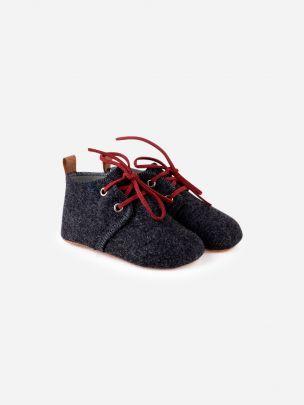 Sapato Mookie Cinza Escuro | Noogmi
