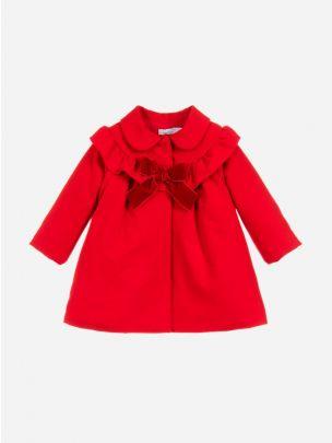 Casaco Vermelho com Folho | Patachou