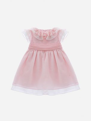 Chiffon Pink Dress | Patachou