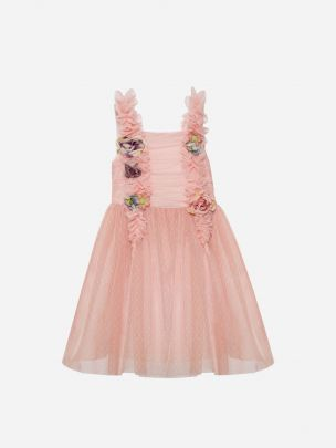 Tulle Pink Dress | Patachou