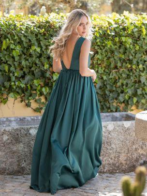 Vestido Comprido Verde | Mauî