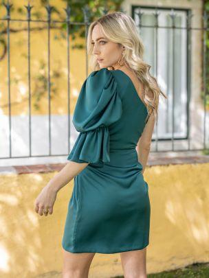 Vestido Curto Verde   Mauî
