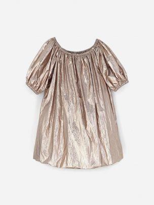 Vestido Metalizado Oversized | Andorine