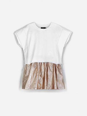 Vestido Contraste Bicolor | Andorine