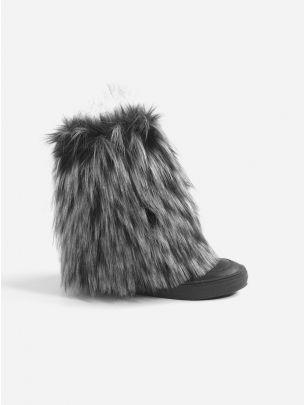 Faux Fur Boots | Andorine