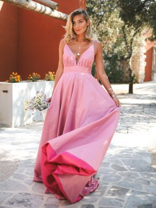 Two Tone Pink Gown | Kaoâ