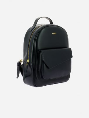 Soave Black Backpack | Rufel