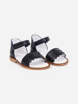 Sandália Marinho com Velcro | Pikitri