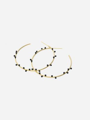 Nest Gold Plated Earrings | Ana João Jewelry
