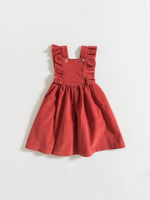 SKIRT / RED CORDUROY | Grace Baby and Child