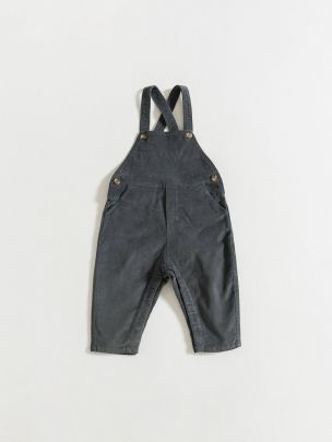DUNGAREES / ASH CORDUROY | Grace Baby and Child