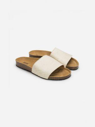 Sandálias Brancos Bay Slip On