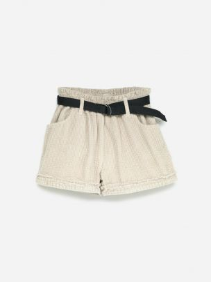 Belted Shorts Sand