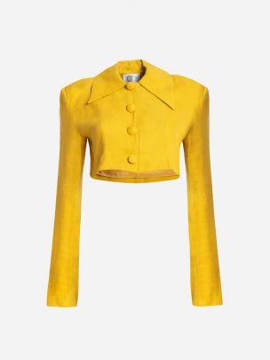 Yellow Solei Jacket | Carolina Machado