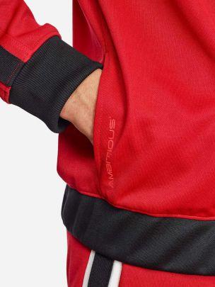Casaco Vermelho Riscas | AMBITIOUS