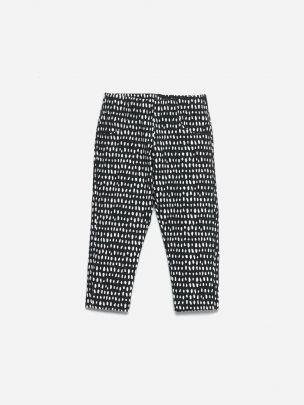 Dot Print Leggings