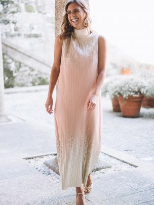 Vestido Dourado | Kaoâ
