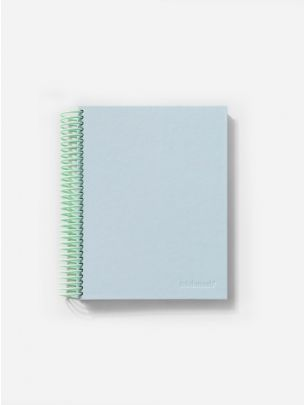 Easy Breezy Notebook Sky Blue   Mishmash