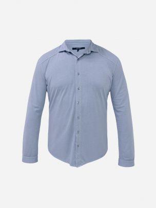 Camisa Azul Sea Point   Wiino