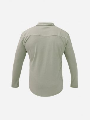 Camisa Verde Long Bay   Wiino
