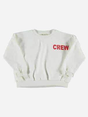 Sweatshirt Branca Unissexo | Piupiuchick