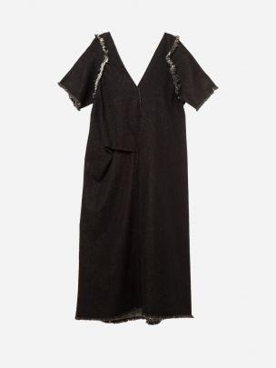 Vestido Preto Corpo| Carla Pontes
