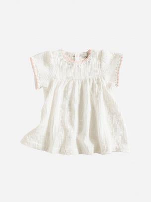 Vestido Branco Bordados   Grace Baby and Child