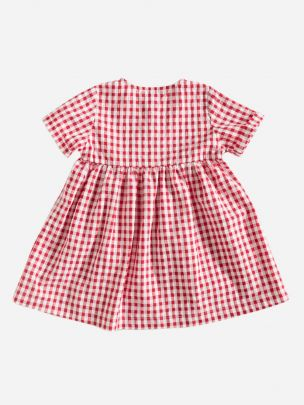 Vestido Quadros Vermelhos | Grace Baby and Child