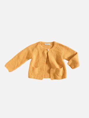 Casaco Tricotado Amarelo | Grace Baby and Child