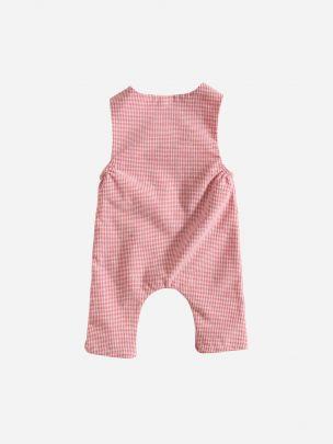 Macacão Quadros Vermelhos | Grace Baby and Child