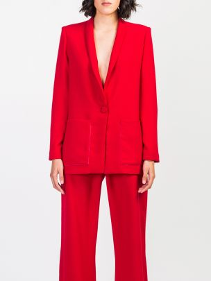 Blazer Vega Vermelho | Hyena Tailor Made