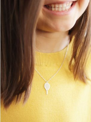 Colar Life Raquete de Ténis | Coquine Jewelry