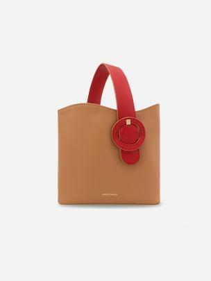 Isaura Camel Bag | Manjerica