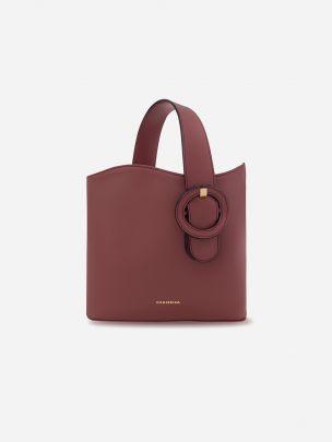 Isaura Carmim Bag | Manjerica