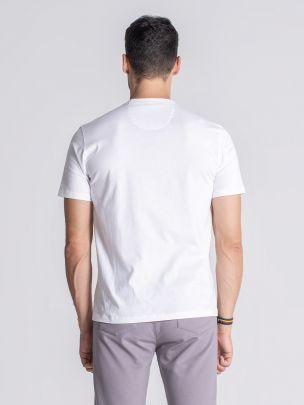 T-shirt Cataldi Branco | JEF
